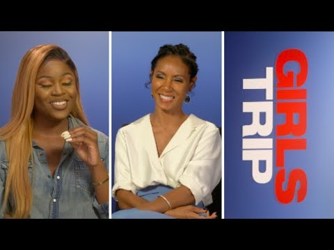 INTERVIEW WITH JADA PINKETT SMITH - GIRLS TRIP OUT NOW #MOBOS