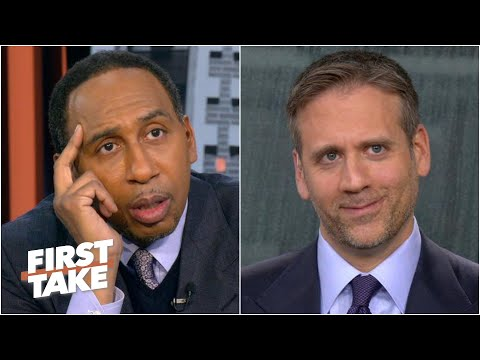Stephen A. refuses to talk about Tom Brady with Max ever again! | First Take