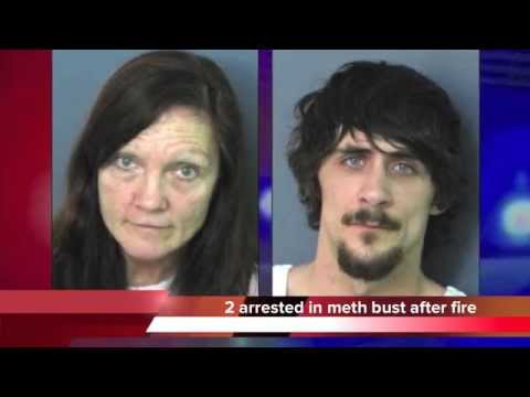 Lea Ann Sims and Blake Tolbert arrested in Fort Payne, Alabama