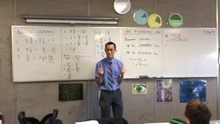 The Distributive Law (2 of 2: Linking the Commutative Law and Associative Law together)