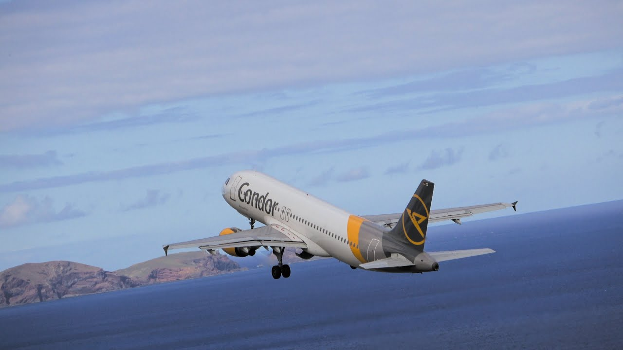 AFTERNOON TAKEOFF and LANDINGS at Madeira Airport 02.07.2020