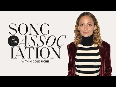 Nicole Richie Sings Destiny's Child, Mya, And More In A #StayHome Edition Of Song Association | ELLE
