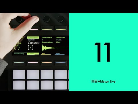 """<span class=""""title"""">Ableton Live 11: Device visualizations on Push</span>"""