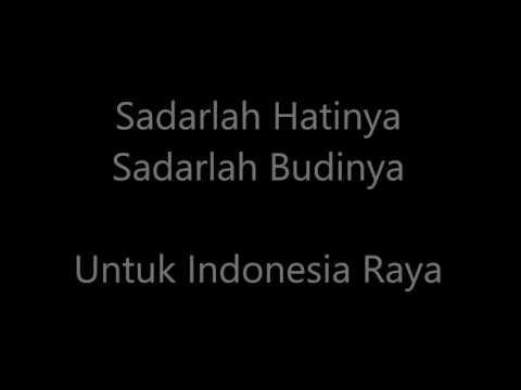 Ternyata Lagu Indonesia Raya terdiri dari 3 bait/Stanza Kita wajib tahu