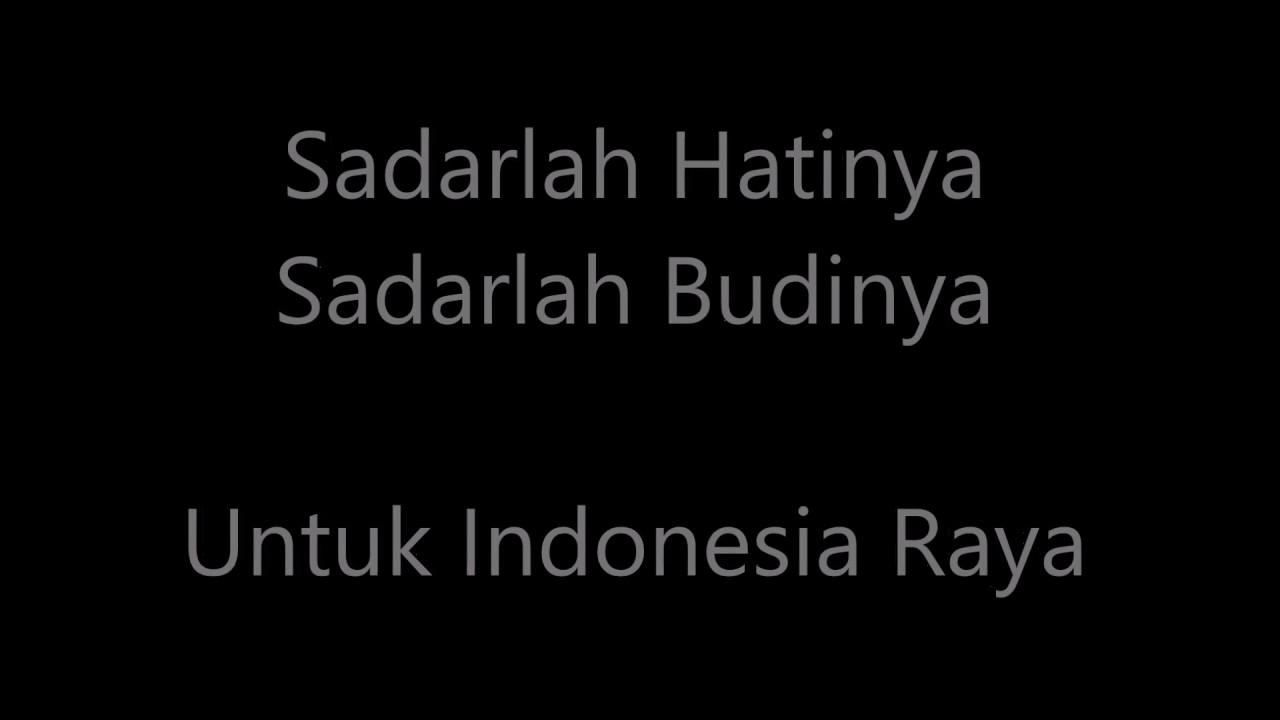 Ternyata Lagu Indonesia Raya Terdiri Dari 3 Bait/Stanza