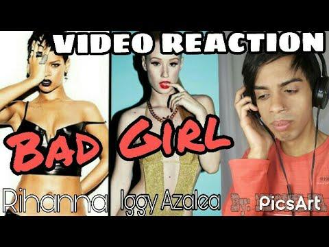 Rihanna feat Iggy Azalea - BAD GIRL (Video Reaction) BY Neoviana