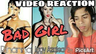 Video Rihanna feat Iggy Azalea - BAD GIRL (Video Reaction) BY Rafa Noriegui download MP3, 3GP, MP4, WEBM, AVI, FLV Agustus 2018