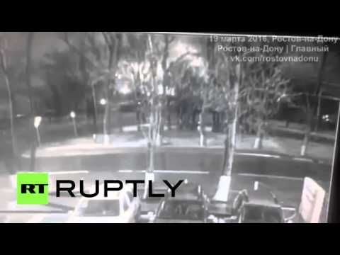 Flydubai Plane Crash FIRST VIDEO: Moment Boeing-737 Crashes In Rostov-on-Don Caught On CCTV