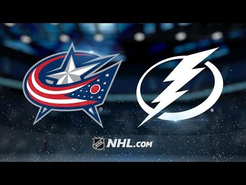 Columbus Blue Jackets vs Tampa Bay Lightning – Oct.13, 2018 | Game Highlights | Video re-uploaded