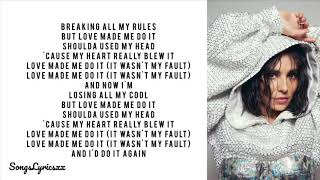 Cheryl - Love Made Me Do It (Lyrics)