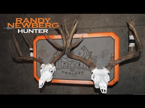 How to - European Deer Mount at Camp with Randy Newberg