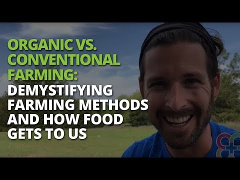 Organic vs. Conventional Farming: Demystifying Farming Methods and How Food Gets to Us