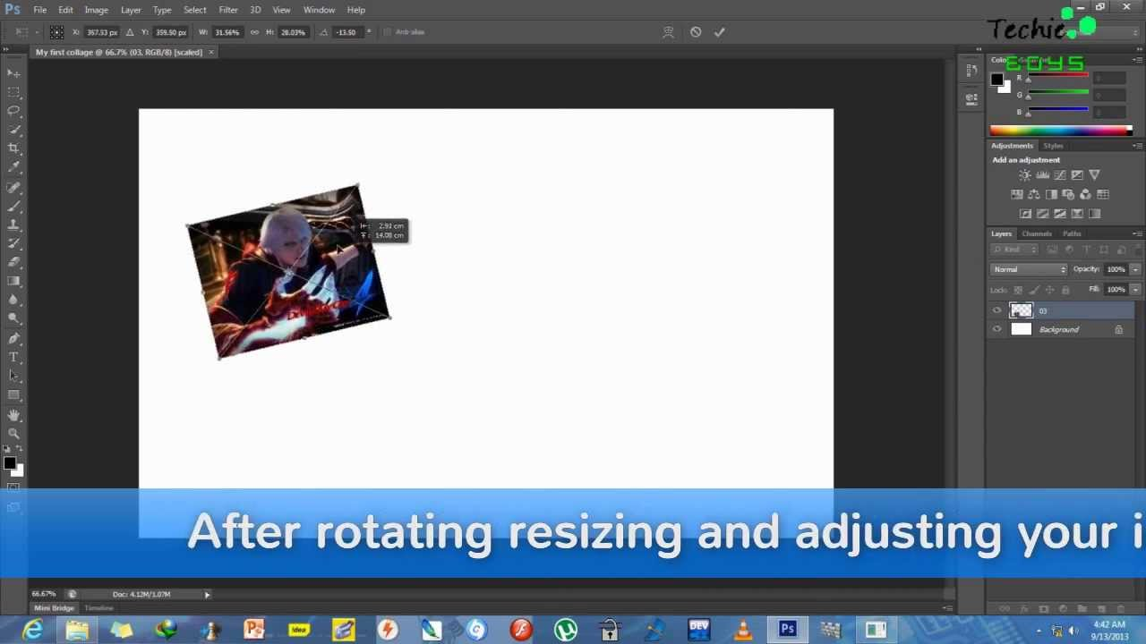 How To Make Collages Easily With Adobe Photoshop Cs6 With