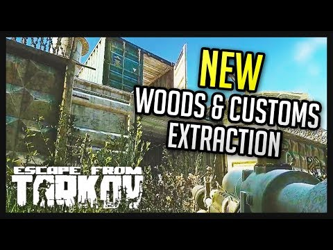 New Customs & Woods Map Expansions - Escape from Tarkov