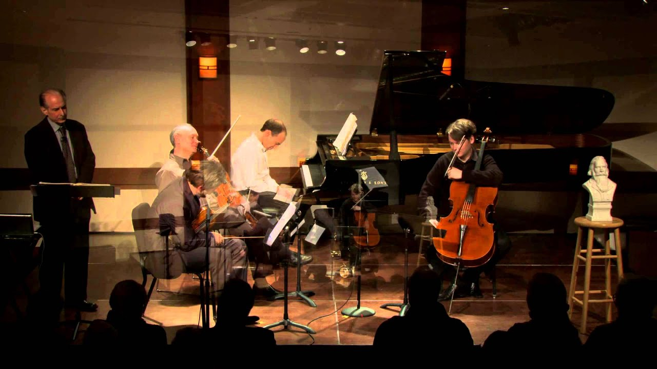Inside Chamber Music with Bruce Adolphe - Brahms Piano Quartet No. 1 in G minor, Op. 25