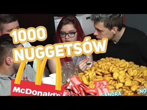 JEMY 1000 MCNUGGETS z MCDONALD!