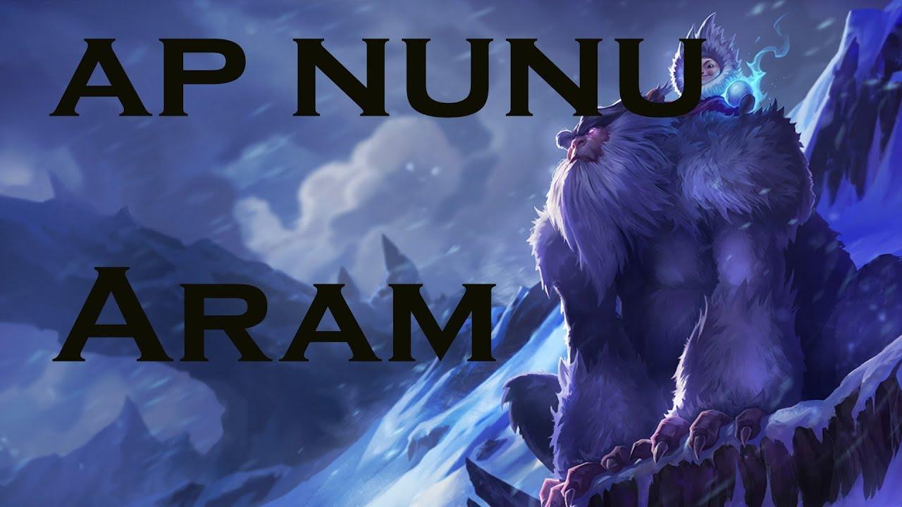 Aram 7.4 Nunu Ultimate Carry Guide - YouTube