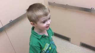 Autistic 4-Year-Old at the doctors