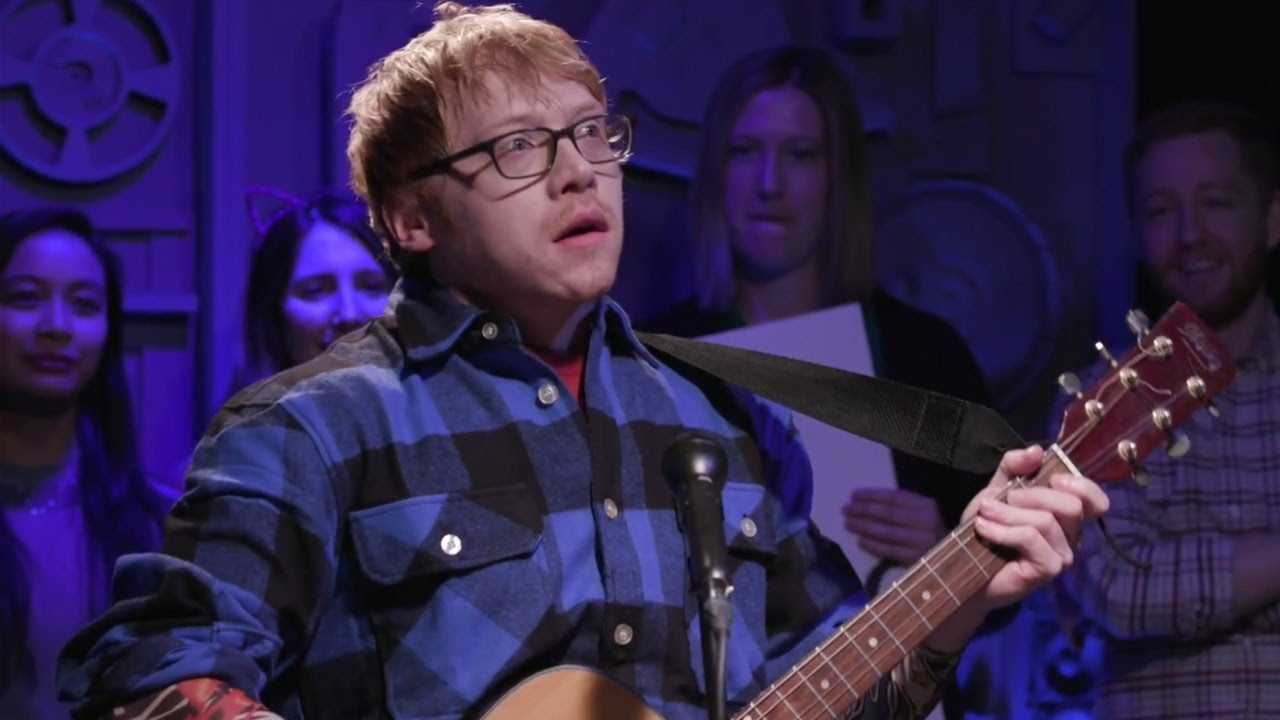 Download Rupert Grint Claims He INVENTED Ed Sheeran In Hilarious Parody Video