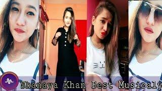 Shanaya Khan Best New Musicaly Videos || Musically India Compilation ||