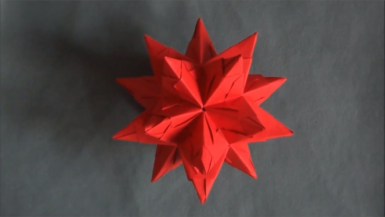 Origami Etoiles De No L Youtube