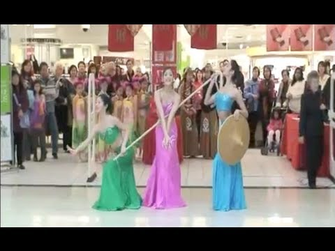 Ferba's Favourite Chinese trio dance- Young Girls of Dai 邵多丽