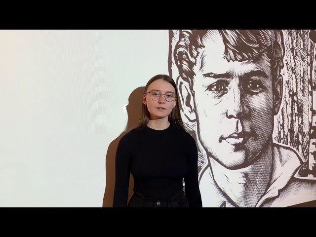 Изображение предпросмотра прочтения – АлександраМихалчич читает произведение «Шаганэ ты моя, Шаганэ…» С.А.Есенина