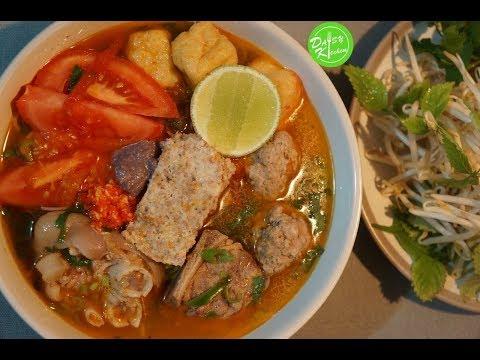 Cách Nấu Bún Riêu Cua ngon chuẩn vị- Vietnamese Crab Noodle Soup Recipe - Cách Nấu Bún Riêu Cua ngon chuẩn vị- Vietnamese Crab Noodle Soup Recipe