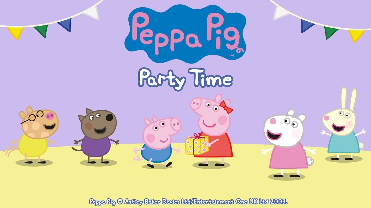 Party Time Peppa Pig Party Time Gameplay App Demo