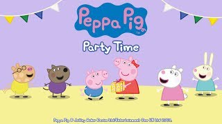 Peppa Pig - Party Time gameplay (app demo)