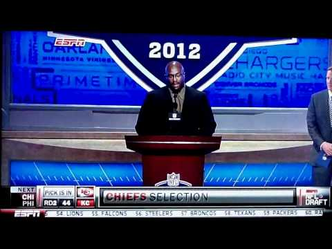 Will Shields KC Chiefs NFL Draft 2012
