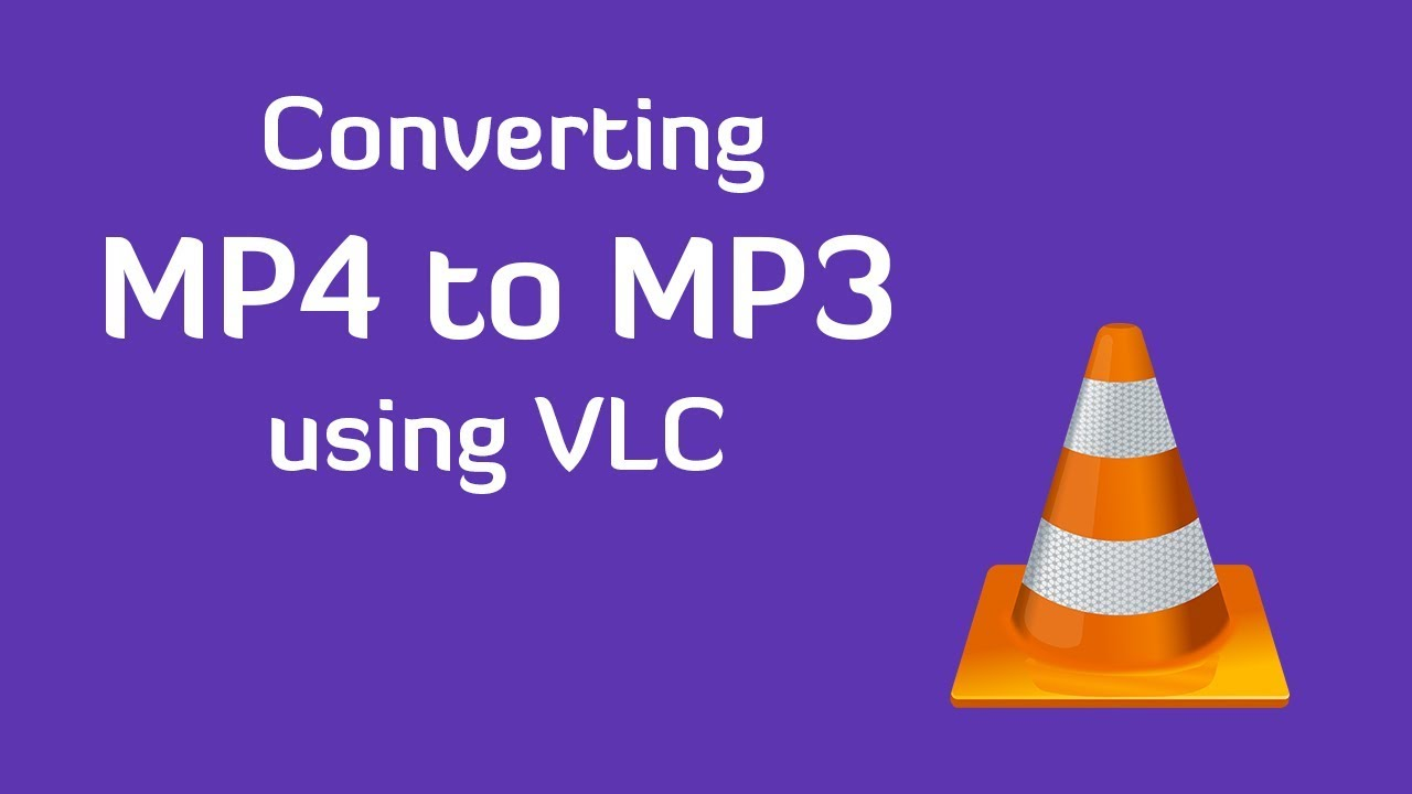 Convert MP4 to MP3 using VLC