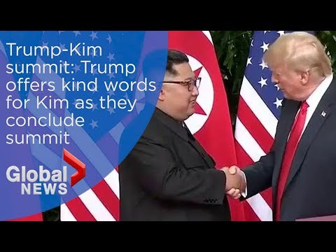 Trump-Kim summit: 'Kim a very worthy, smart negotiator' - Trump