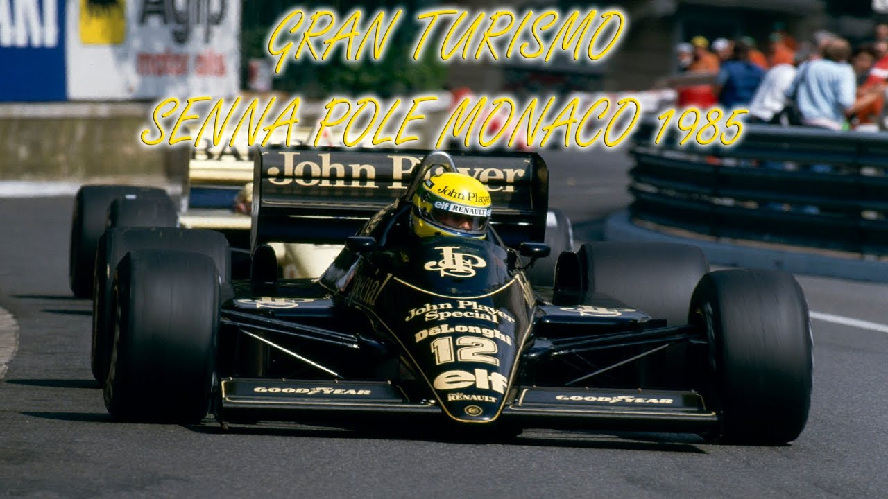 gran turismo 6 lotus 97t ayrton senna monaco grand prix pole position 1985 1 20 450 youtube. Black Bedroom Furniture Sets. Home Design Ideas