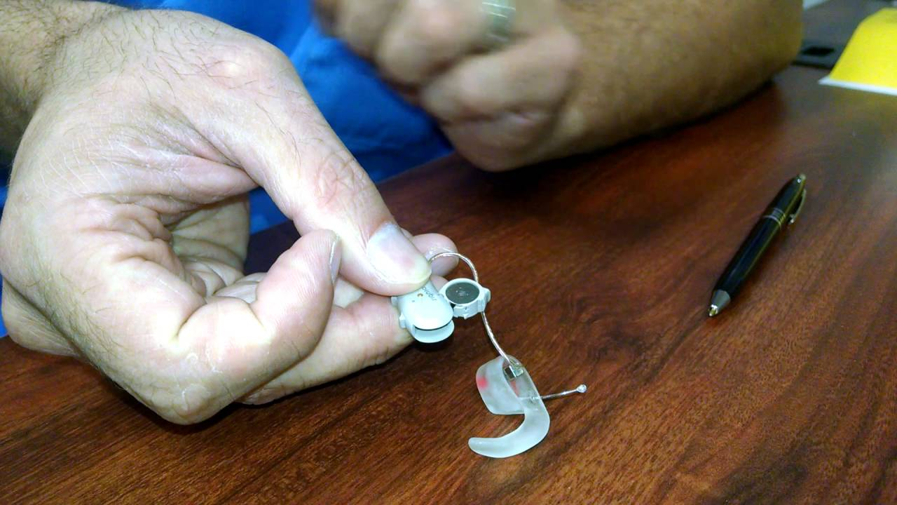 Siemens Hearing Aid Cleaning Instructions Youtube