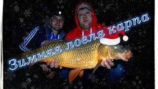 Зимняя ловля Карпа,BIG-FISH 2014 на Украинке.(