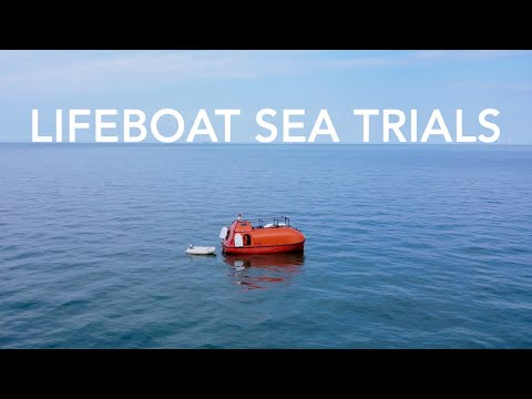 *NEW - SPECIAL* Lifeboat Conversion Ep20: Multi-day sea trials in the Thames Estuary, England [4K]