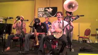 "New Orleans Swamp Donkeys Traditional Jazz Band ""Bourbon Street Parade"""