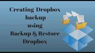 Smooth dropbox backup with Backup & Restore Dropbox plugin for WP