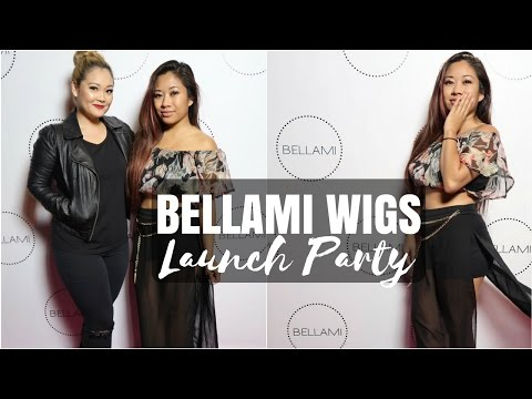 NEW Bellami Wigs -- Launch Party + Unbagging