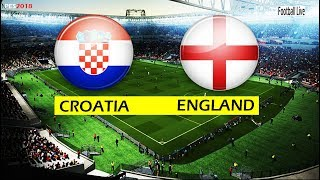 PES 2018 | CROATIA vs ENGLAND | Full Match & Amazing Goals & Penalty Shootout | Gameplay PC