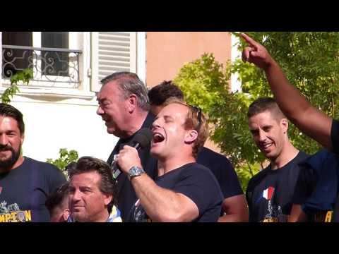 Victoire ASM sur RCT Top14 2017 Abendanon chante à Jaude le lendemain