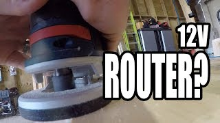 Bosch 12V Router Hands-on