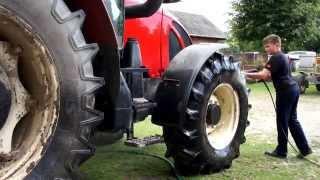 Przygotowania do sezonu, czyli sobotnie mycie ciągnika II Washing tractor Zetor 11741 Forterra II