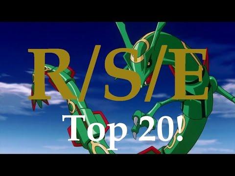 Top 20 Themes of Pokemon R/S/E: Ruby, Sapphire & Emerald