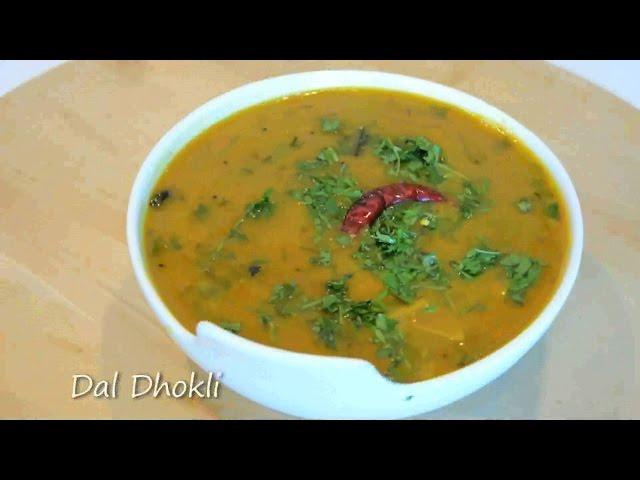 Gujarati Dal Dhokli