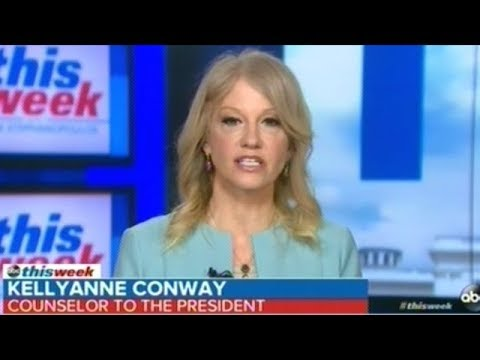 "Kellyanne Conway ""President Trump Is A Man That's Shows Great Compassion For Women!"""