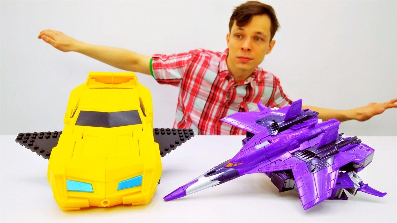 Мастерская Фёдора - Автобот Бамблби учится летать!
