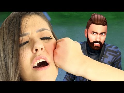 FUI PEGA TRAINDO E APANHEI (The Sims 4 - Gameplay #10)