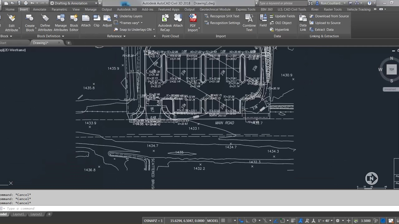 How to Create AutoCAD & Civil 3D Linework Using PDF Import